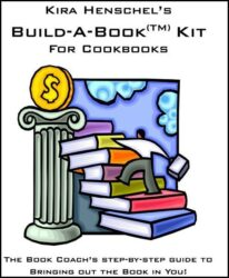 Build-a-Book Kit for Cookbooks