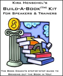 Build-a-Book Kit for Speakers and Trainers